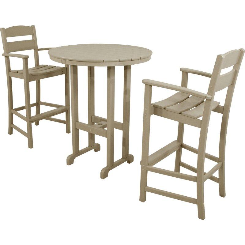 Classics 3 Piece Bar Height Dining Set