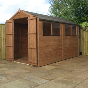 6 X 10 Ft. Shiplap Corner Summer House By WFX Utility