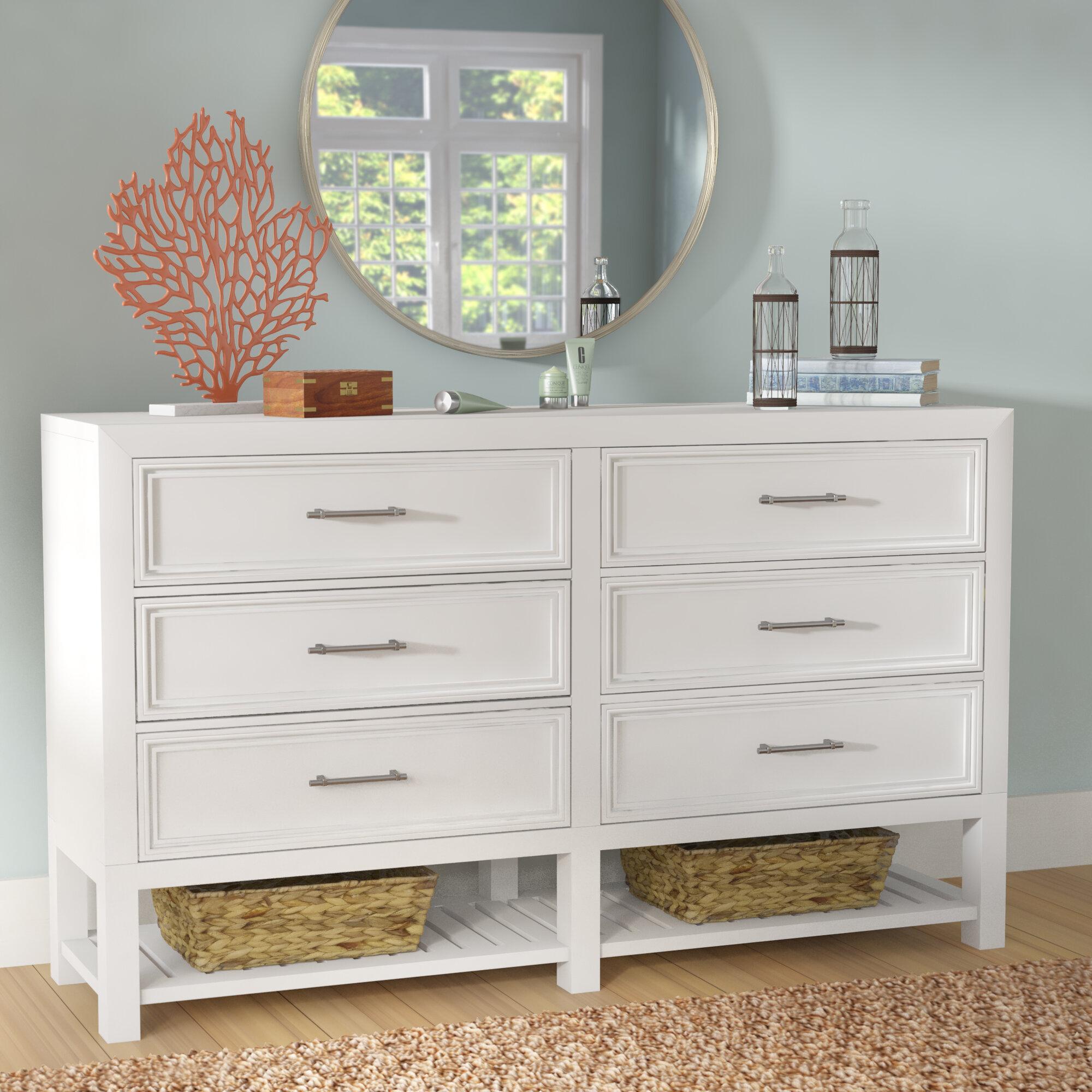 Tatiana 6 Drawer Double Dresser