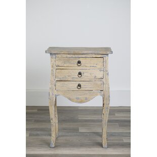 Reviews Morefield End Table with Storage by August Grove