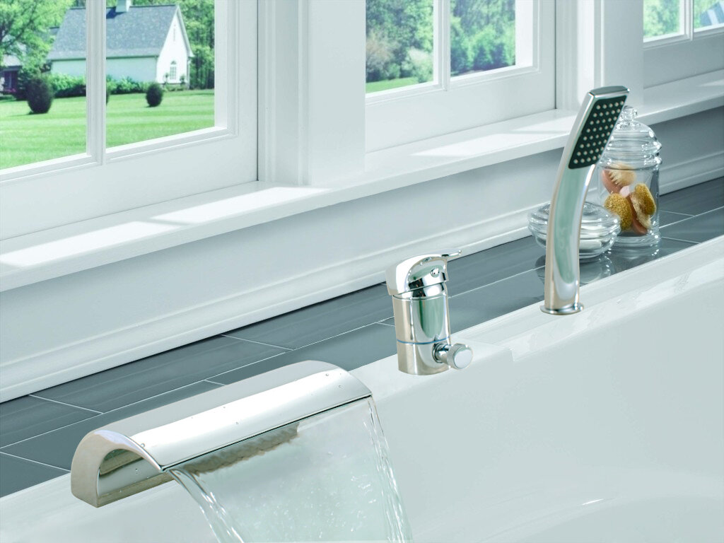 Sumerain Single Handle Deck Mount Bath Tub Faucet & Reviews | Wayfair