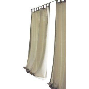 Tiburon Indoor/Outdoor Single Curtain Panel
