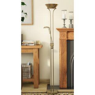 Brass floor lamps wayfair save mozeypictures Gallery