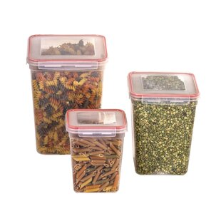 Lundy 6 Container Food Storage Set with Lids