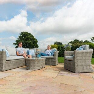Read Reviews Mombert 7 Seater Rattan Corner Sofa Set