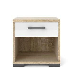 Lamotte 1 Drawer Bedside Table By Ebern Designs