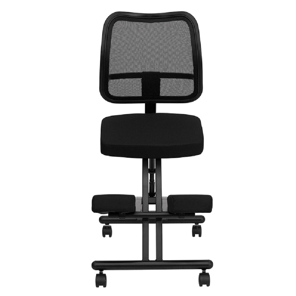 Latitude Run Noho Height Adjustable Kneeling Chair Wayfair