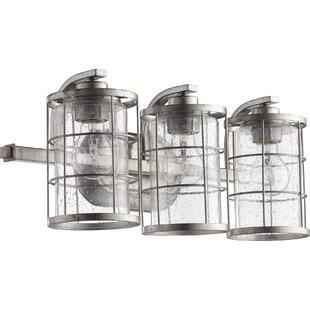 Great deal Ellis 3-Light Vanity Light By Quorum