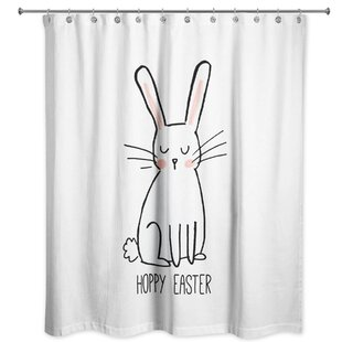 Price comparison Bevins Hoppy Easter Shower Curtain ByThe Holiday Aisle