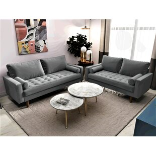 Mac 2 Piece Living Room Set by..