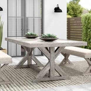 Farmersville Aluminum Dining Table Purchase & reviews