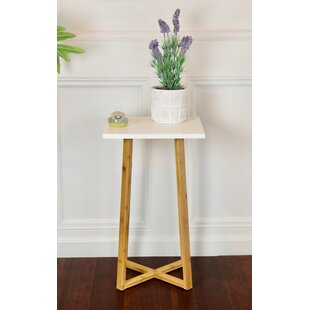 Wellston Pedestal Telephone Table by Ebern Designs