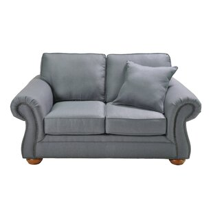 Hutson Stationary Loveseat by Alcott Hill Savings