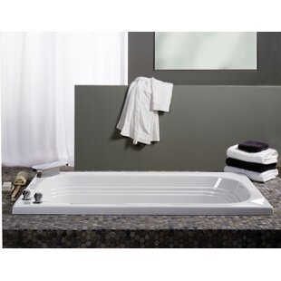 "Luxura 60"" x 32"" Drop in Soaking Bathtub"