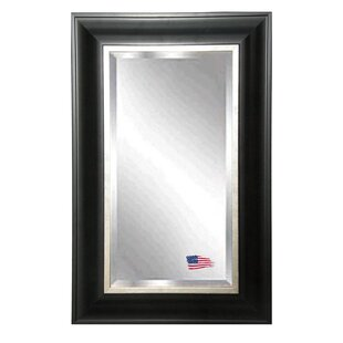 Affordable Rectangle Grand Black Wall Mirror By Darby Home Co