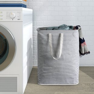 Affordable Water-Resistant Laundry Hamper ByHighland Dunes