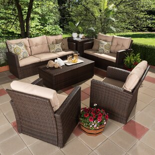Dessie 6 Piece Sofa Set with Cushions
