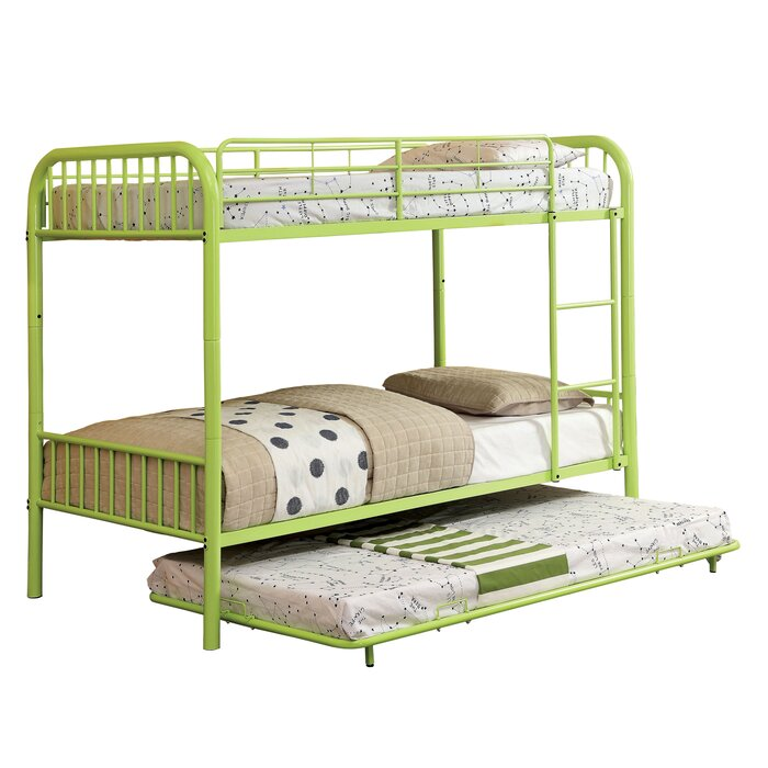 Sonya Twin Over Bunk Bed With Trundle