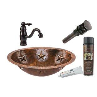Premier Copper Products Star Metal Oval U..