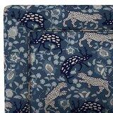 Solange Border Linen Upholstered Standard Bed by Mistana™