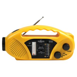 Stansport Solar Radio Flashlight