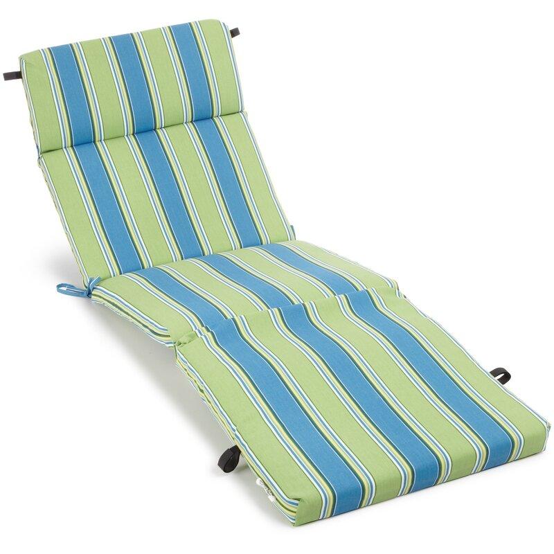 Haliwall Outdoor Chaise Lounge Cushion
