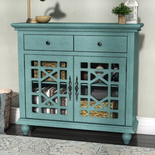 Mauldin 2 Drawer 2 Door Cabinet Lark Manor