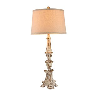 Alissa Resin Column 35 Table Lamp