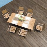 Pompano 7 Piece Dining Set