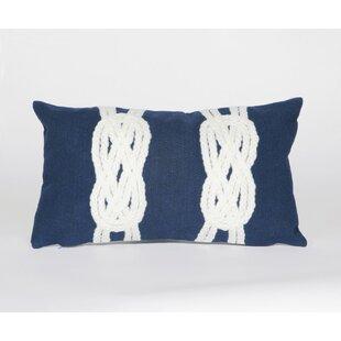 Clarkstown Double Knot Lumbar Pillow by Highland Dunes Best Design