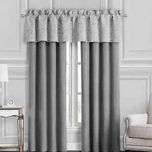 Aidan Pole Top Solid Blackout Rod Pocket Curtain Panels (Set of 2) by Waterford Bedding