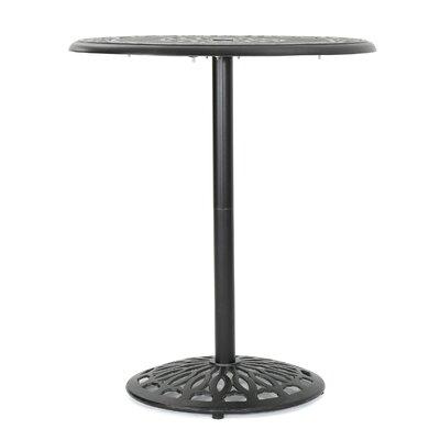 Ainsworth Aluminum Bar Table by Astoria Grand
