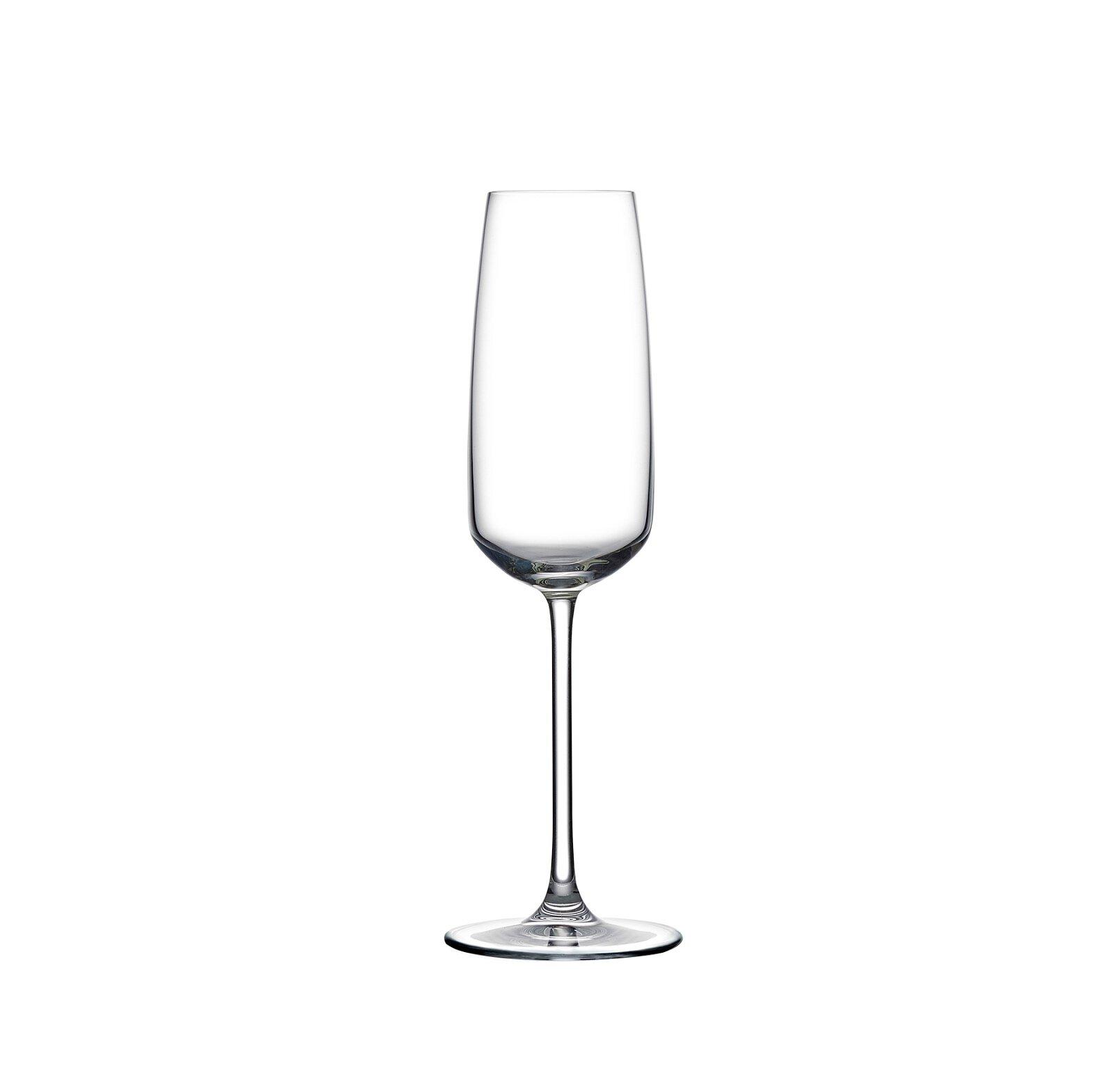 Nude Mirage Champagne 8 Oz Crystal Flute Wayfair