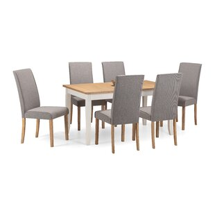 Isabelle Extendable Dining Set With 6 Chairs By August Grove