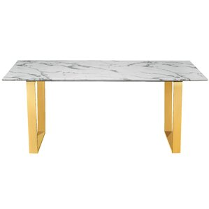 vonnie marble dining table