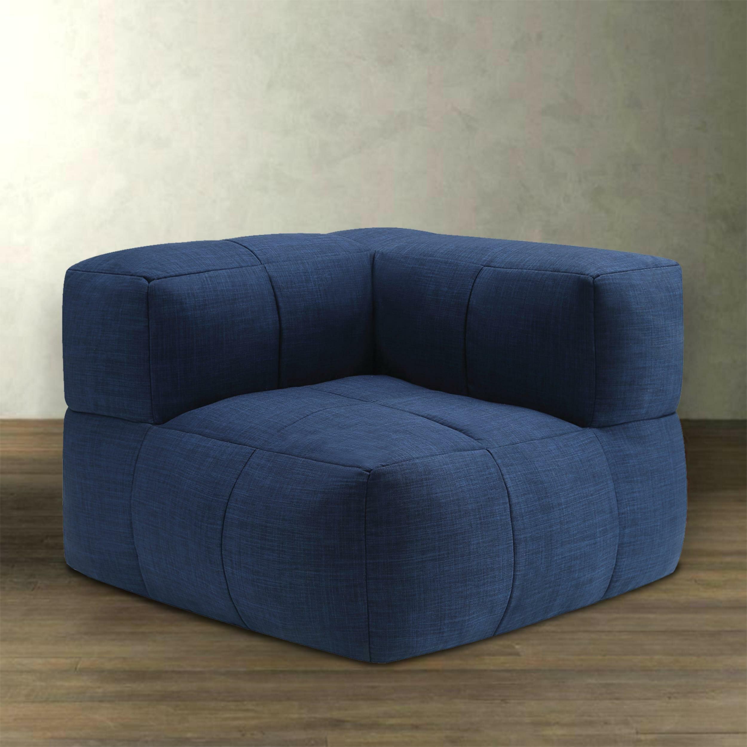 Terrific Latitude Run Comfortable Fabric And Foam Corner Medium Bean Ibusinesslaw Wood Chair Design Ideas Ibusinesslaworg