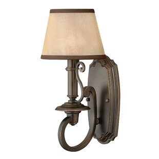 Big Save Kenny 1-Light Armed Sconce By Alcott Hill