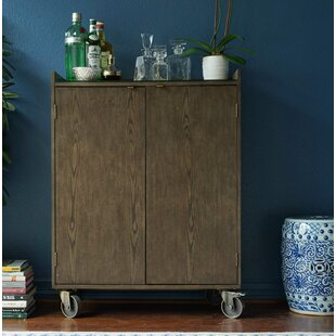 Hives and Honey Haven Home Bar Cart