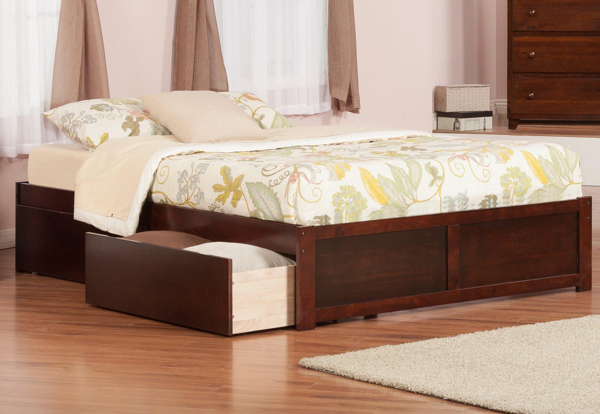 & Andover Mills Mackenzie King Storage Platform Bed u0026 Reviews | Wayfair