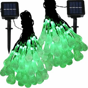 The Holiday Aisle Boone Solar Powered 30 Light String Light
