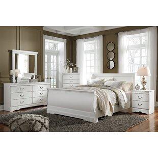 Harriet Bee Kurt Sleigh Configurable Bedroom Set
