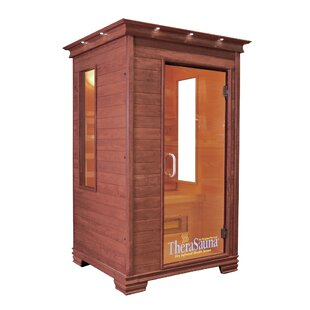2 Person FAR Infrared Sauna With MPS Touch View Control By TheraSauna