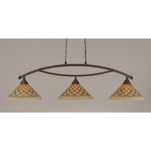 Blankenship 3-Light Billiard Light by Fleur De Lis Living
