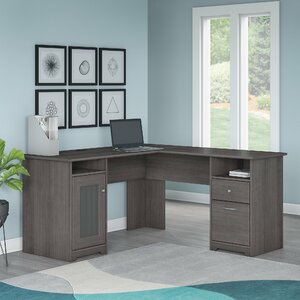 Hillsdale L-Shaped Executive Desk