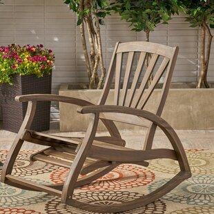 Highland Dunes Cathleen Outdoor Rocking Chair