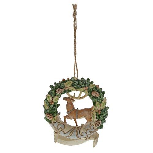 Weihnachtsbaumfigur Kranz Rentier Heartwood Creek | Dekoration > Dekopflanzen > Kränze | Heartwood Creek