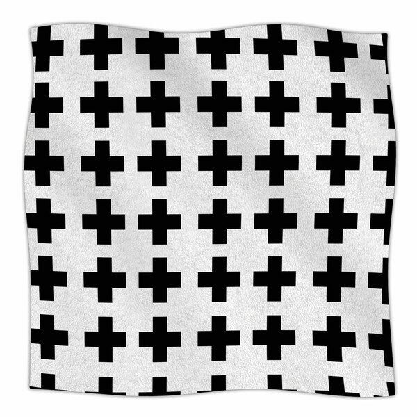Swedish Cross by Suzanne Carter Fleece Blanket