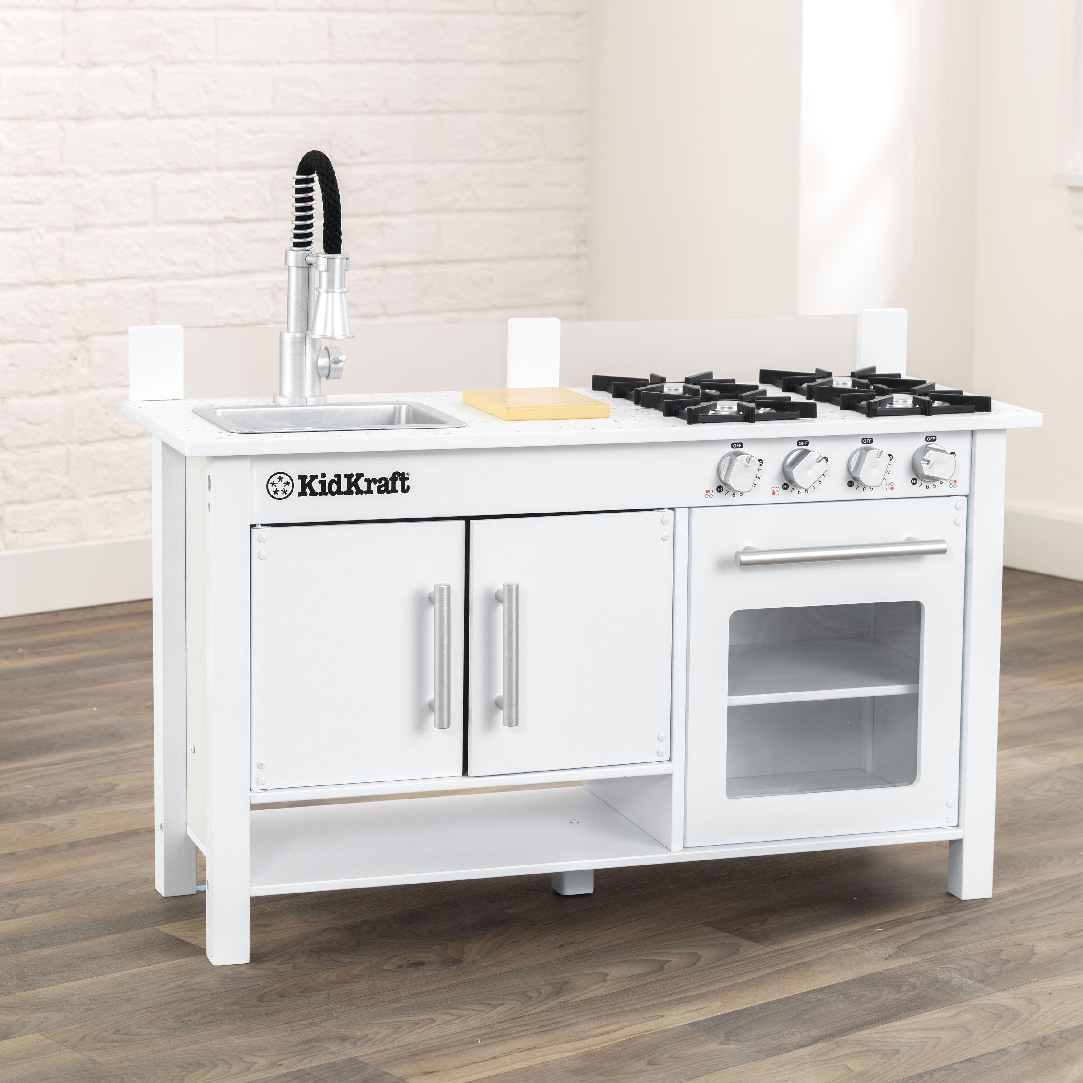 Kidkraft Little Cook S Work Station Kitchen Set Reviews Wayfair