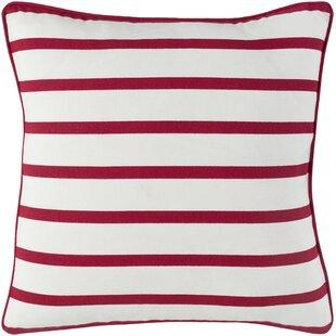 Draughn Cotton Throw Pillow