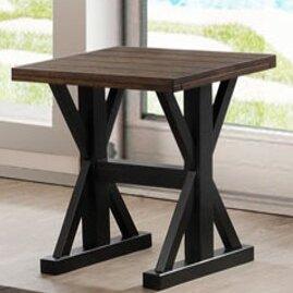 Della End Table by Gracie Oaks Design